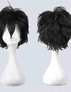 Cosplay Wigs Cosplay Cosplay Black Short Anime Cosplay Wigs 30 CM Male / Female