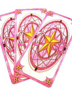 kaarten set geïnspireerd door cardcaptor sakura magische mahou sakura (52 stuks)