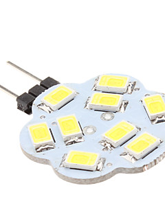LED à Double Broches Blanc Naturel G4 4W 9 SMD 5630 430 LM DC 12 V