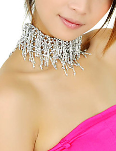 Polystyrene With Beading Necklace Belly Dance More Colors
