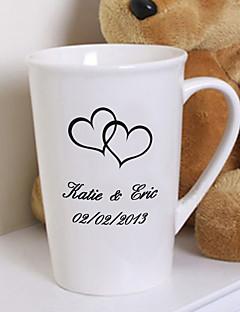 Menyasszony / Pár Ajándékok Darab / Set Italokkal kapcsolatos termékek Glam / Klasszikus Esküvő / Évforduló / Születésnap Kerámia