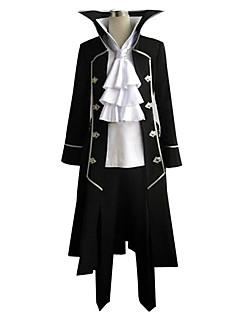 Inspirovaný Pandora Hearts Gilbert Nightray Anime Cosplay kostýmy Cosplay šaty Patchwork Czarny Dlouhé rukávyKabát / Tričko / Kalhoty /