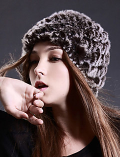 Ski Cap/Beanie Women's Thermal / Warm / Windproof Snowboard Wool Fabric Coffee Solid Skiing / Snowsports / Snowboarding Winter