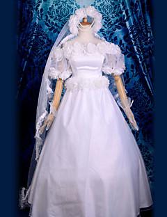 Usagi Tsukino vestido de novia traje de cosplay