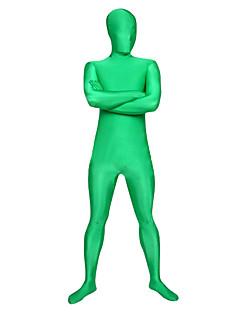Vihreä Full Body Distinctive Finger Spandex Zentai Suit