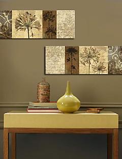 Kunstdruk op gespannen doek botanische set van 2 1301-0204