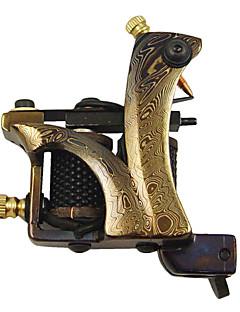 Высокое качество Damascus Steel татуировки Machine Gun Shader