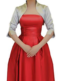 화려한 반 소매 새틴 저녁 / 웨딩 랩 / 저녁 재킷 (더 많은 색상) 볼레로 어깨를 으쓱