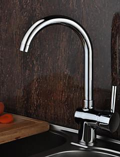 deckenmontiert Einhand Ein Loch with Chrom Armatur für die Küche