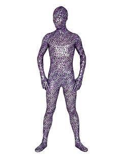 Purple Leopard Lycra Unisex Full Body Zentai