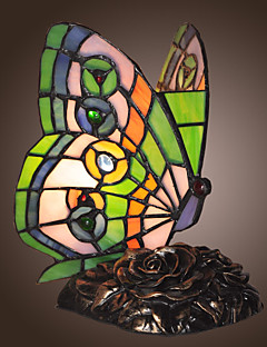 Tiffany-style Butterfly Shape Decoration Lamp (0835-GT706)