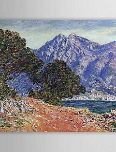 Famous Oil Painting Cap Martin by Claude Monet