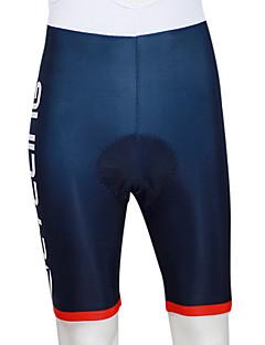 Kooplus מכנס קצר מרופד לרכיבה לגברים אופניים נושם לביש 4D לוח 3D לוח רצועות מחזירי אור מכנסיים קצרים שורטים (מכנסיים קצרים) מרופדים תחתיות