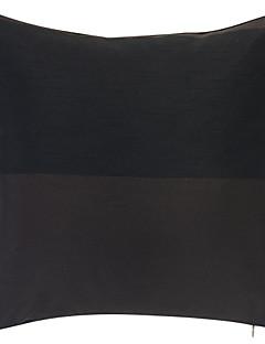 Modern Svart Jacquard Polyester dekorationskudde Cover