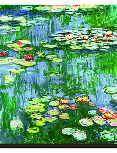 Water Lilies (Nymphéas), c.1916 by Claude Monet Famous Stretched Canvas Print