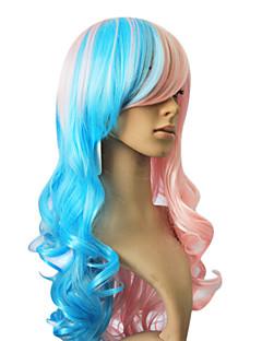 Pelucas para mujeres Rizado Las pelucas del traje Pelucas de Cosplay