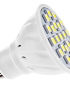 GU10 Spot LED MR16 21 SMD 5050 210 lm Blanc Naturel AC 110-130 / AC 100-240 V