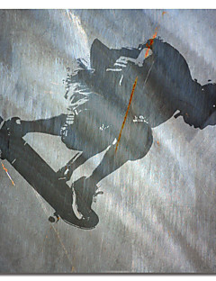 Printed Canvas Art People Skater II by Karen Williams with Stretched Frame