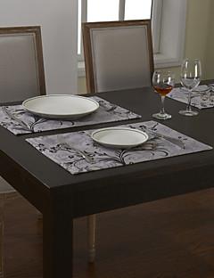 Ensemble De 4 Sets de Table Floral traditionnels