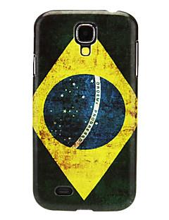 Brazilský vzor IMD Hard pouzdro pro Samsung Galaxy I9500 S4