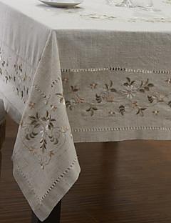 Floraux classiques nappes en lin
