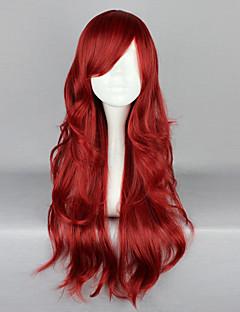 Lolita Wigs Gothic Lolita Red Lolita Lolita Wig 65 CM Cosplay Wigs Solid Wig For