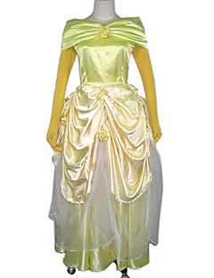 Cosplay Kostuums Prinses / Sprookje Festival/Feestdagen Halloween Kostuums Kleding / Handschoenen Halloween / Carnaval / Nieuwjaar
