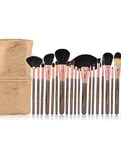Make-up For You® 20pcs Bristle/Pony/Goat hair Makeup Brushes set Professional/Limits bacteria Coffee Blush/Powder/Shadow/Eyeliner