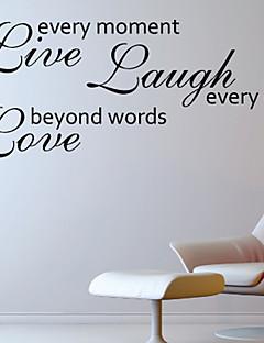 Kærlighed Byond Words Wall Sticker
