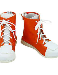 Reborn! Tsunayoshi Sawada Red Lace-up Cosplay Shoes