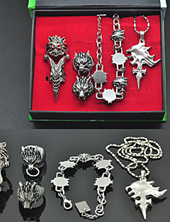 Jewelry Inspired by Final Fantasy Squall Leonhart Anime/ Video Games Cosplay Accessories Necklace / Bracelet Silver Alloy Male