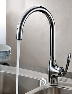Sprinkle® Kitchen Faucets  ,  Contemporary  with  Chrome Single Handle One Hole  ,  Feature  for Centerset