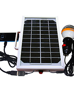 5W Solar Mobile Phone Charger Lighting System (Cis-53326-5W)