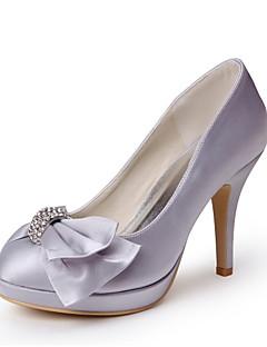 Wedding Shoes - Saltos - Saltos / Plataforma - Cinza - Feminino - Casamento