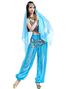 Shining Performance Chiffon Belly Dance Outfits For Ladies(More Colors)