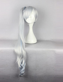 RWBY Weiss Schnee White Silver and White Mixed Cosplay Wig