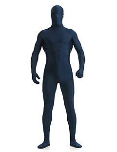 Ink Blue Unisex Lycra Full Body Zentai