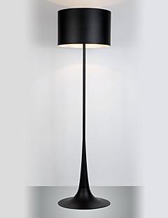 Floor Light In Black Chrome Finish