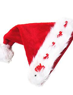 Kalapok Mikulás ruhák Fesztivál/ünnepek Mindszentek napi kösztümök Piros Kalap Karácsony Bársony