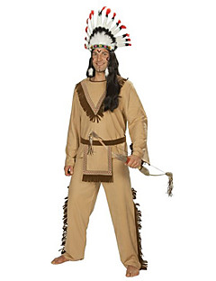 Indian Men's Costume with Dagger and Horn(for Height 170-182cm)