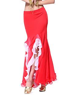 Dancewear Viscose Belly Dance Skirt For Ladies(More Colors)