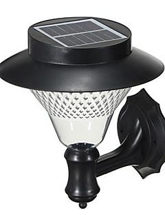 屋外の太陽光発電16-LEDホワイトヴィラウォールマウントガーデンコートヤードドアパスライトランプ