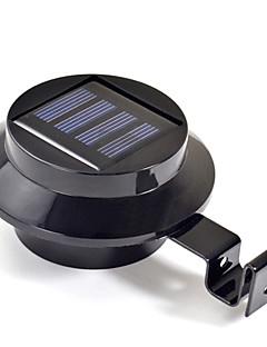 New 3 LED Solar Powered Gutter Door Fence Wall Light Outdoor Garden Lighting(CIS-57208)