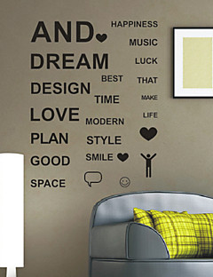 Ord Glade Ting Wall Stickers