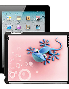 3D Effect Case Back Cover voor iPad 2/3/4