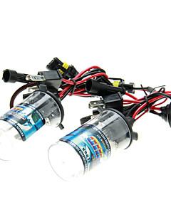 2 stuks Auto H4 / H H4-2 HID Xenon Lampjes lampen AC / DC 12V55W (4300-12000K optioneel)