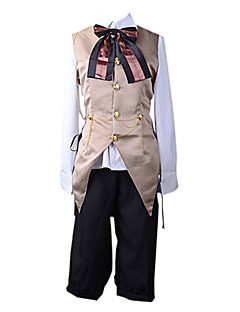 Inspired by Vocaloid Kagamine Len Video Game Cosplay Costumes Cosplay Suits Patchwork White / Yellow Vest / Blouse / Pants / Bow