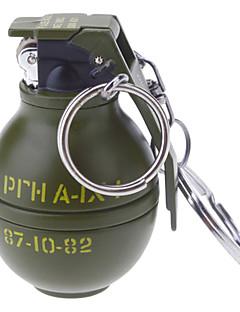 Sleutelhanger Style Grenade Shaped Alloy aansteker