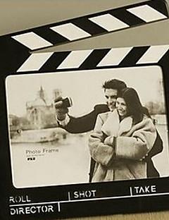 """10 """"H, Moderner Filmstreifen Tischbilderrahmen"""
