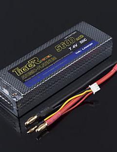 Tiger 7.4V 5600mAh 50C Lipo Battery